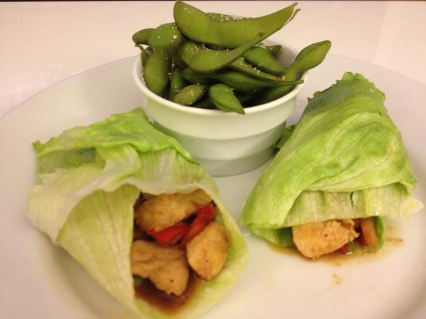 Rachael Ray's Chinese Chicken Lettuce Wraps