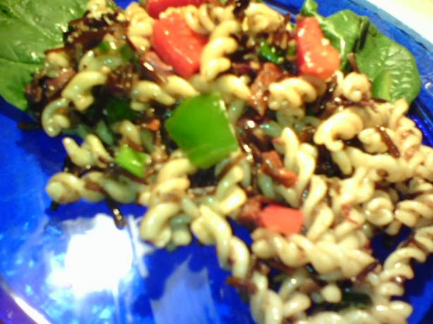 Mediterranean Wild Rice & Pasta With Sun-Dried Tomatoes