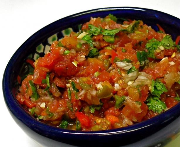Medium Hot Restaurant Style Salsa