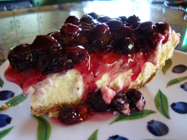 Quick Cherry Cheesecake