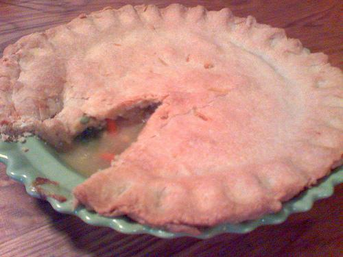 Curry Chicken Pot Pie