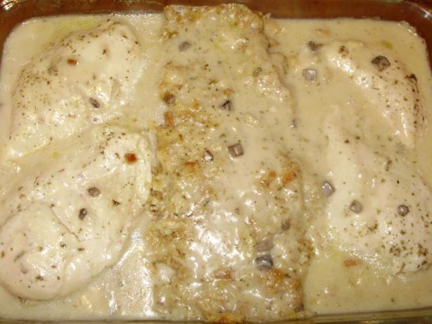 One Dish Chicken & Stuffing Bake