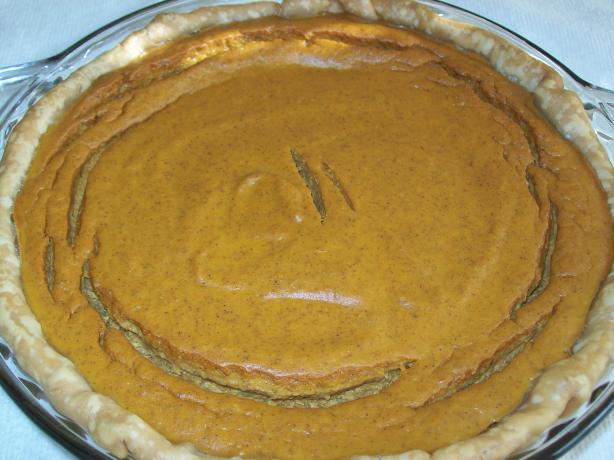 Splenda Easy Pumpkin Pie