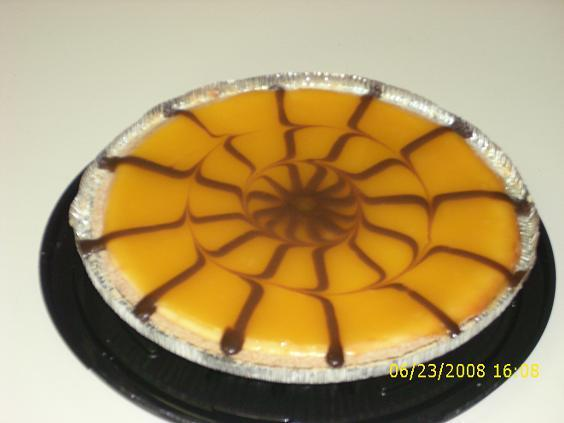 Mango Cheesecake With Oreo Graham Crust