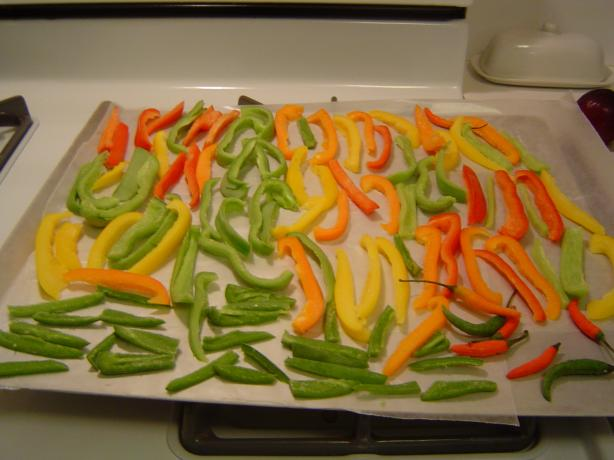 Frozen Bell Peppers (For Recipes)
