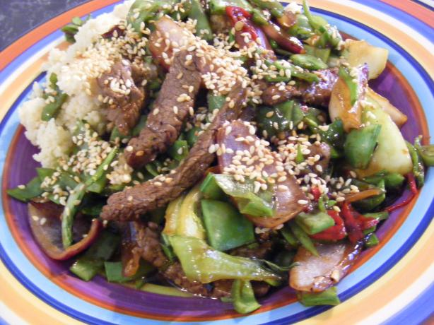 Sesame Beef Stir-Fry (21 Day Wonder Diet: Day 5)