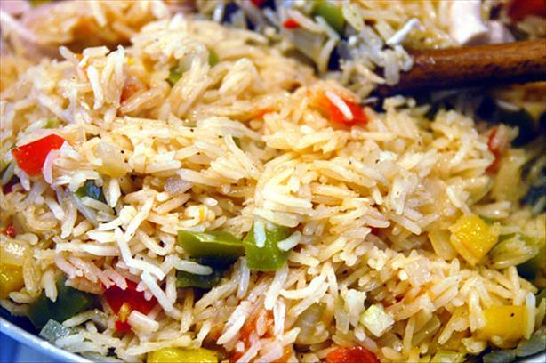 Spanish Garden Rice