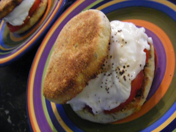 Tomato & Egg Muffin (21 Day Wonder Diet: Day 5)