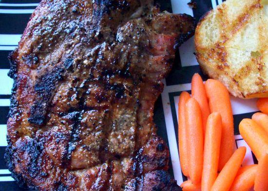 Easy Tender Grilled Pork Steak
