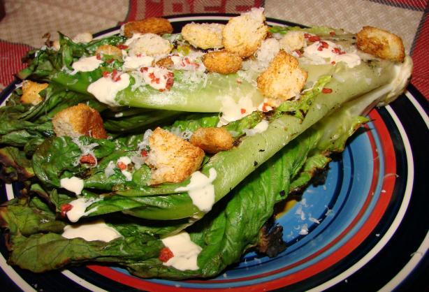 Grilled Caesar Salad / Grilled Romaine