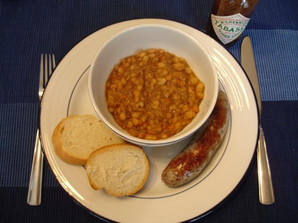 Navy Beans Cajun Style