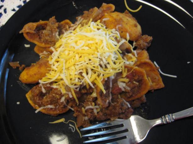 Beef Taco Frito Skillet