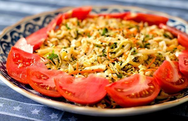 Chinese Napa Cabbage Salad (Gluten-Free)