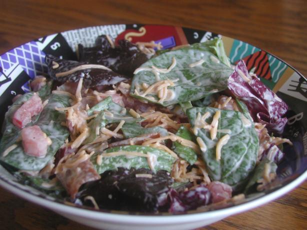American Bacon, Lettuce, Tomato Salad