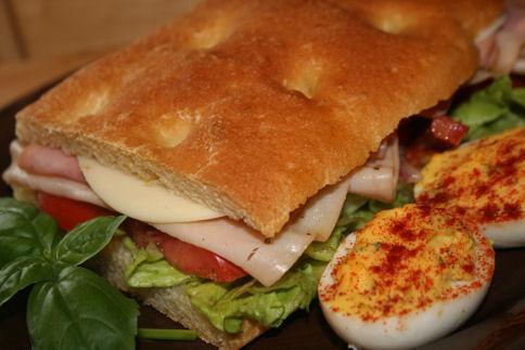 Ciabatta Deli Sandwiches: a Hearty Italian-Style Sandwich