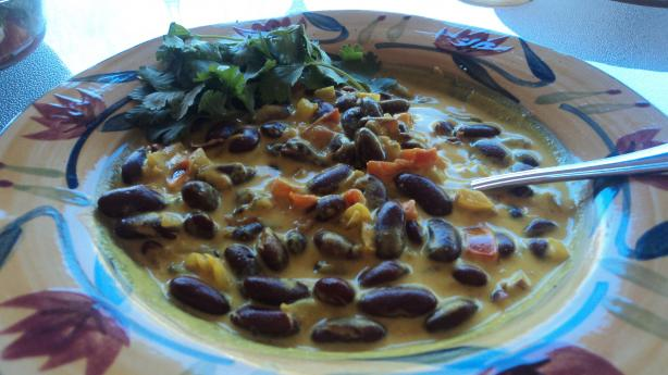 Maharagwe--(Spiced Red Beans in Coconut Milk)