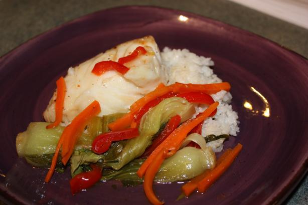 Sweet Chilli Fish Parcels