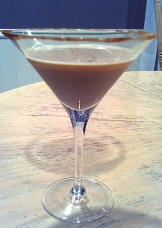 Spiced Pumpkin Martini