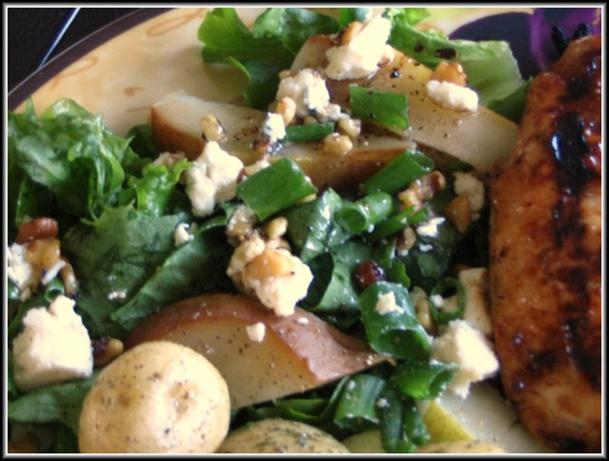 Blue Cheese and Pear Salad