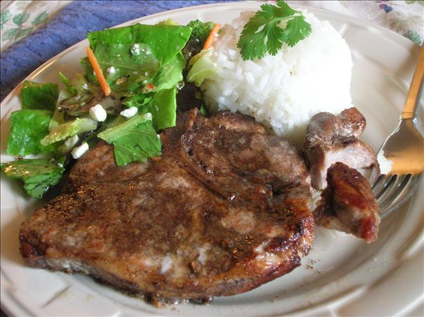 Chinese Five Spice Pork Chops