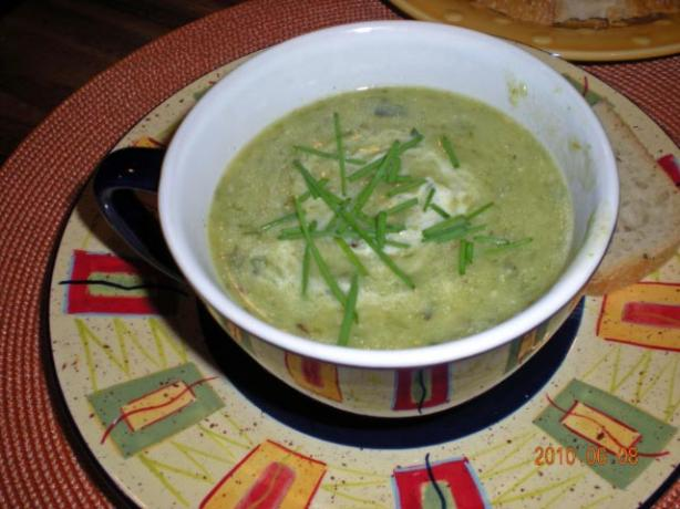 Easy Slow Cooker Potato-Leek Soup