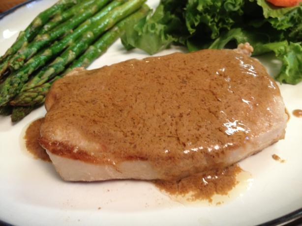 Pork Chops, With Mustard or Horseradish