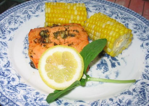 Lemon-Mint Herb Marinade