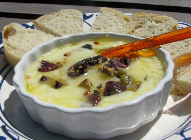 Baked Kasseri Cheese Spread