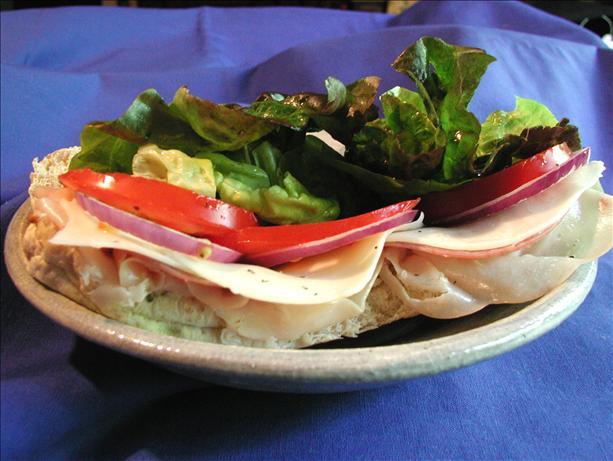 Hot Layered Hero Sandwich