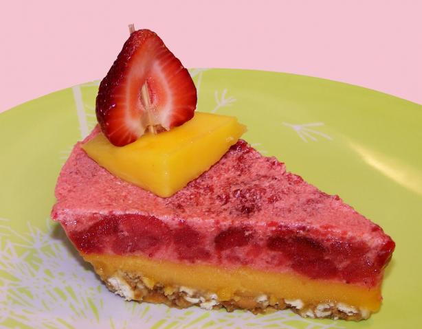 Strawberry-Mango Margarita Dessert (Virgin)