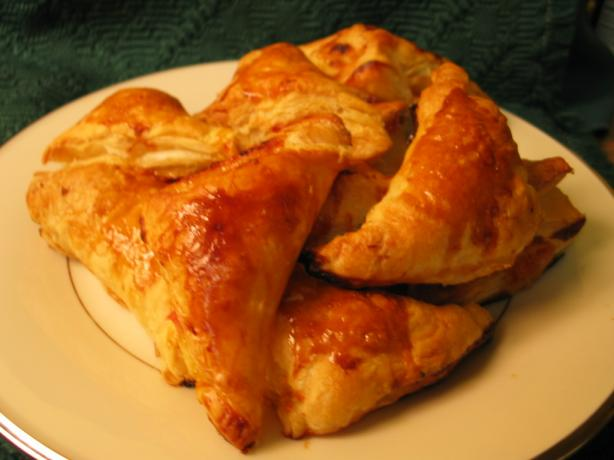 Mini Ham and Cheese Turnovers