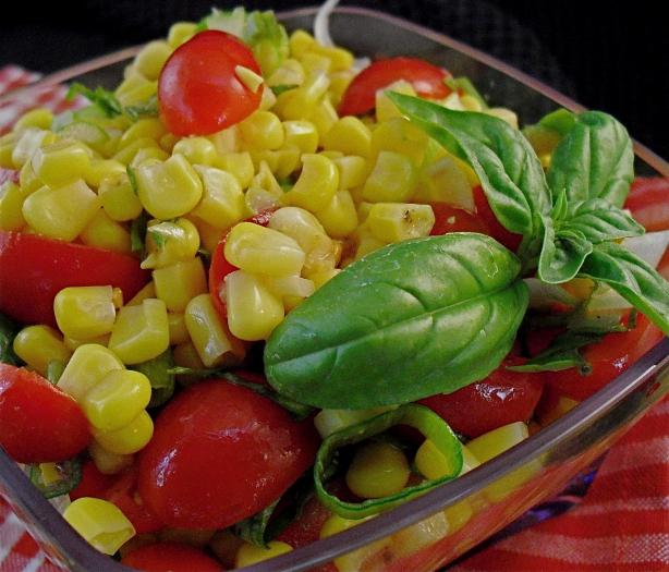 Fresh Tomato and Corn Salad