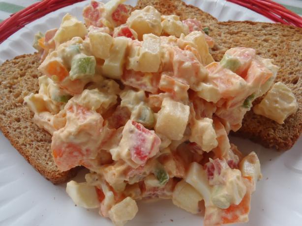 Egg and Tomato Salad Sandwiches (Pita Bread)