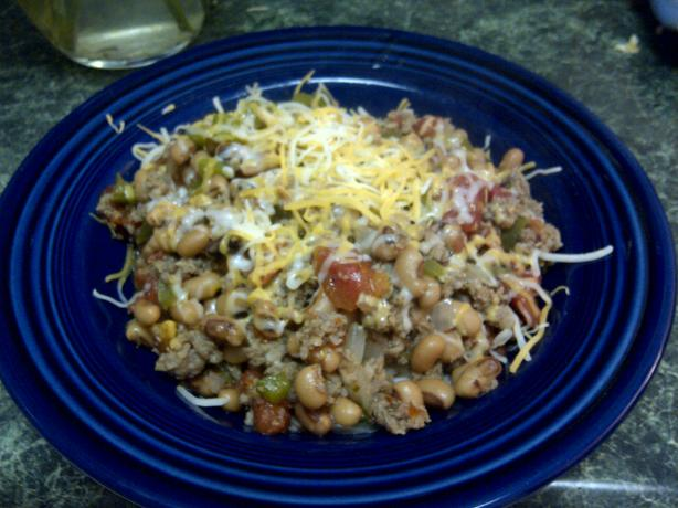 Black-Eyed Pea Supper Dish