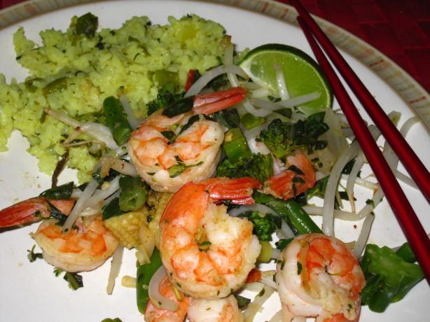 Thai-Style Prawn (Shrimp) Stir-Fry