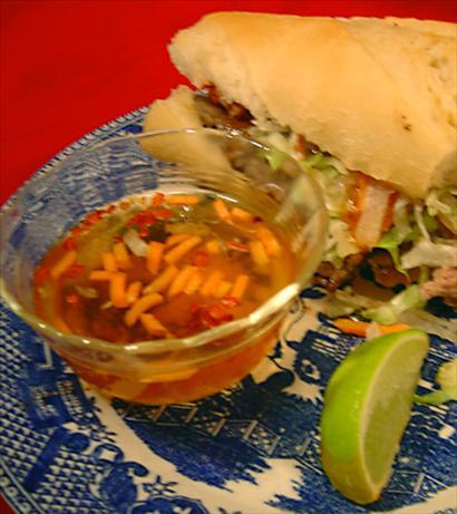 Nuoc Cham (Vietnamese Spicy Fish Sauce)