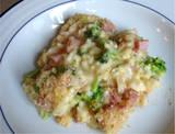 Ham Broccoli Rice and Cheese Casserole