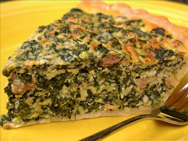 Spinach and Sausage Pie