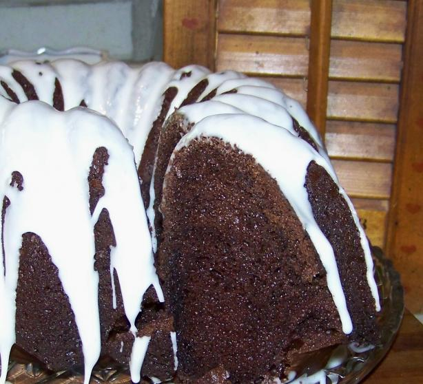 Mimi's Double Rich Chocolate Cake (From a Cake Mix)