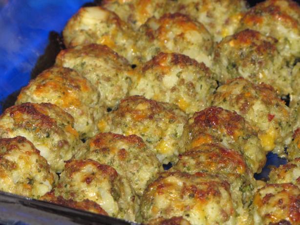Potato Sausage Balls
