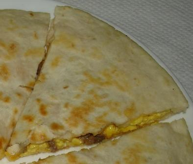 Easy Sausage Egg & Cheese Breakfast Quesadilla