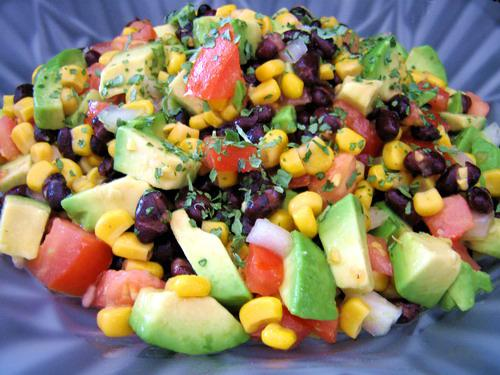 Avocado and Black Bean Salad