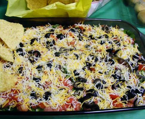 Mexican 9-Layer Dip