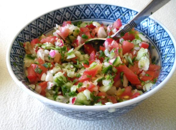 Mexican Vegetable Salsa