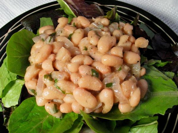 Hot White Bean Salad