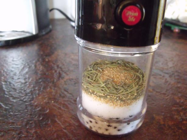 Herb-Infused Salt and Pepper