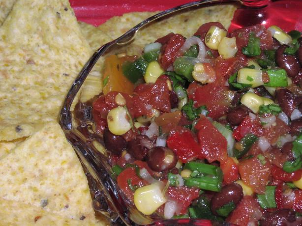 Bek's Black Bean Salsa/Pico De Gallo