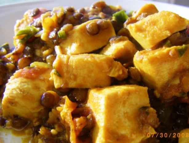 Lentil & Chicken Tagine