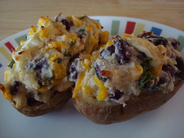 Mexican Stuffed Potatoes