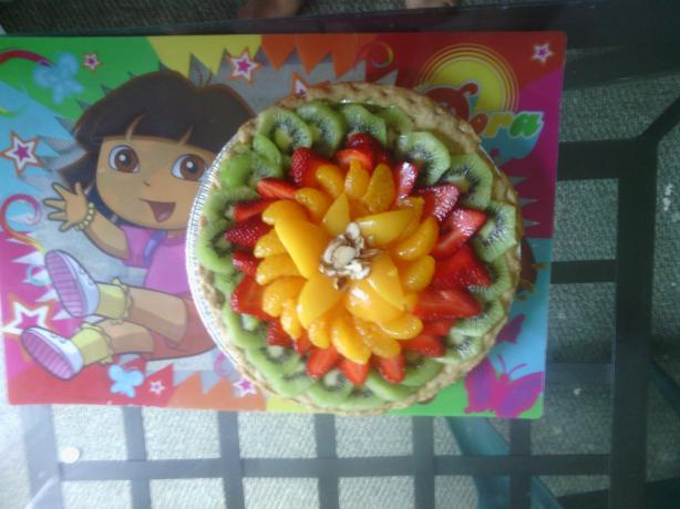 Cream Cheese Fruit Tart